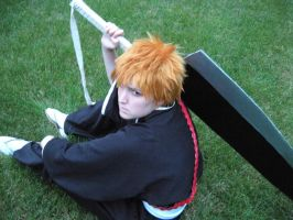 Ichigo shot 3 by BleachcakeCosplay