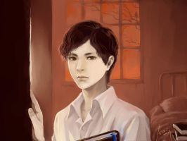 Tom Riddle in Orphanage by woshibbdou