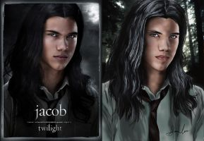 Jacob Black - comparison by Seleyah