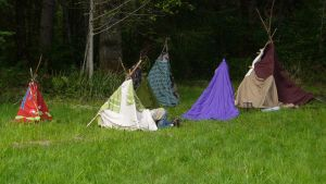 Childrens' Teepees by PamplemousseCeil