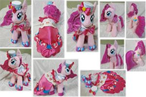 Pinkie Pie in Grand Galloping Gala dress by Rens-twin