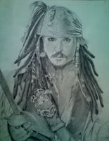 Captain Jack Sparrow by rukkuss