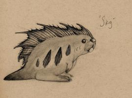 FieldSketchbook: Skig by ItsNotObsession