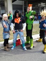 Trunks and Cyborgs by LordProtoMan