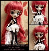 Full Custom - Emilie Autumn Pullip Doll by OllyChimera