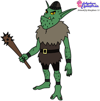 AiE: Blarg the Goblin by HewyToonmore