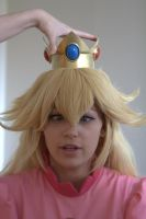 Cross eyed Peach by AliceTheDreamer