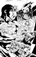 Superman#22page07 ink by eberferreira