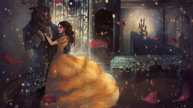 Beauty and The Beast by sapphire22crown