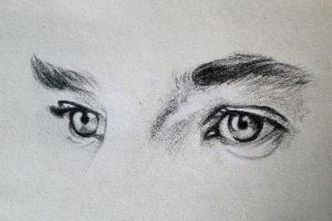 Benedict Cumberbatch's Eyes by EnigmaticDoodle