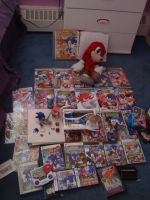 My Sonic Collection by knuxnbats