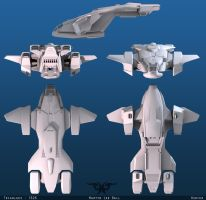 Halo 3 Pelican by martynball
