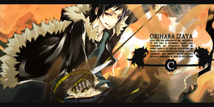 Orihara Izaya Signature by FunnyBullets