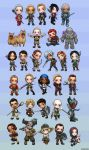 Dragon Age Chibi Set by ghostfire