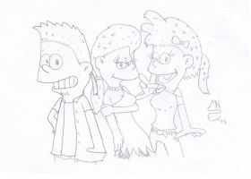Adult Simpsons Kids 3 by MrNintMan