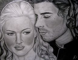 Cesare and Lucrezia by Kim-Anderson