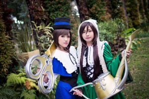 The Gardener Twins - Rozen Maiden by kerubear