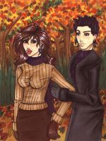 Autumn Walk_edit by blondierule