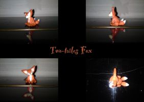 Two-tailed Fox by nfasel