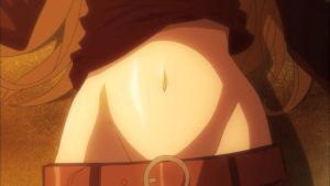 Anime Belly button 2 by asdfguy45623