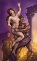 Eidolon - Rape of the Sabine Women by JanBoruta