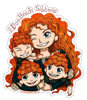 The DunBroch Siblings by eudoraton