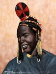 Victor Forestier Sow - Songhay Woman by QCC-Art