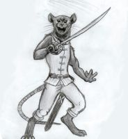 Mouse Warrior 2 by EWilloughby