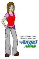 Julie Sakazaki - casual sketch by Dangerman-1973