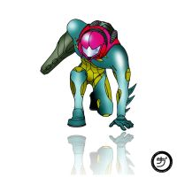 Metroid Fusion Color by Raingna