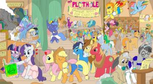 My Little Pony: The Plothole by Paul-Lucas