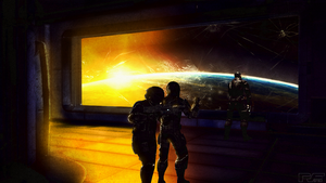 Mass Effect Ending: Afterfight by PVF73