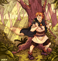 Hetalia | Deep in the forest (Redrawn once again) by Lazorite