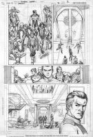 Legion 7 page 2 pencils by Cinar