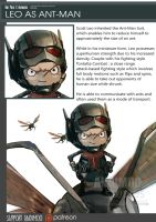 One Piece Avengers Leo as Ant-Man by AndiMoo