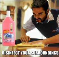 Disinfect Your Surroundings by NotchTheHedgehog