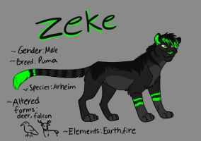Zeke by InnocentFenrir