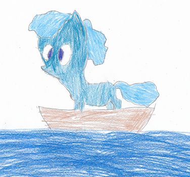 ATG Day 18 - Pony lost at sea by ethanland45