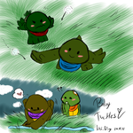 Baby Turtles 24-11-15 by Nei-Ning