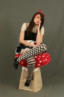 Dark Alice in wonderland 25 by MajesticStock