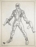Deadpool sketch by ogi-g