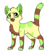 Cat Adoptable 3 by starsweeps