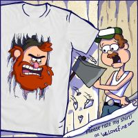 KNOCK KNOCK t-shirt by He-st