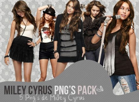miley cyrus pack de png's by EverythingColors