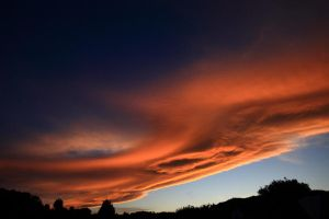 Skies On Fire by abentzer