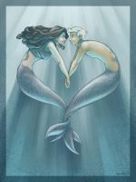 mermaid looove by Kecky