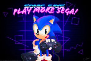 Play More Sega! by MissNeens