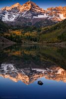 the maroon bells nine by tmophoto