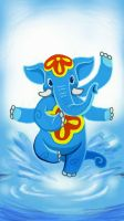Water Ganesha by k-hots