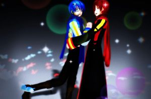 MMD: Keeping You Within Reach - Akaito x Kaito by xXChibi-SenpaiXx